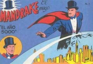 Magos de comic Mandrake el mago