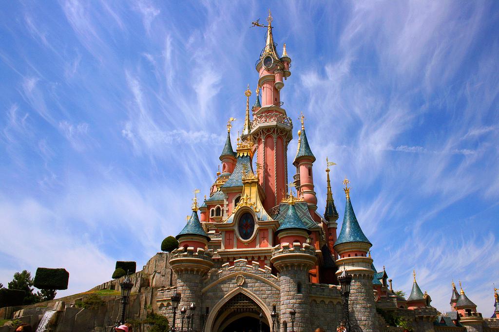 Parques Disney en el mundo - castillo