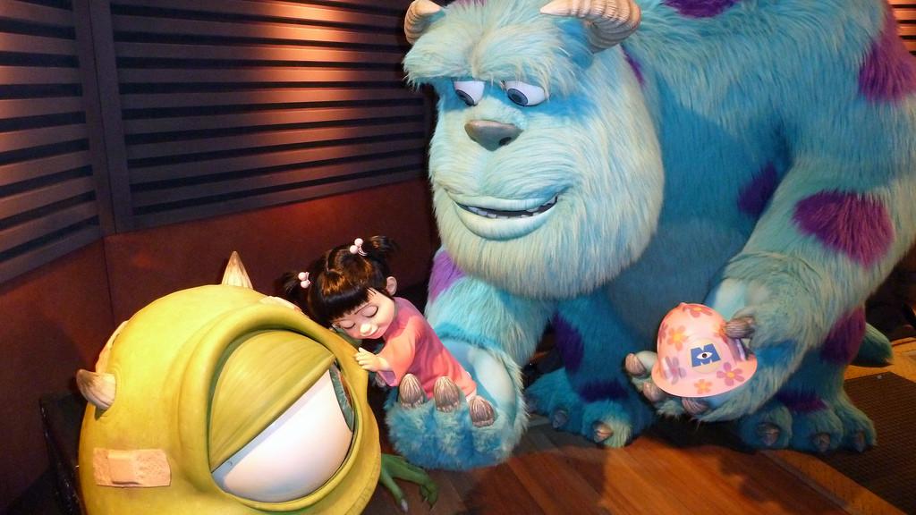 Monstruos famosos del cine de animación