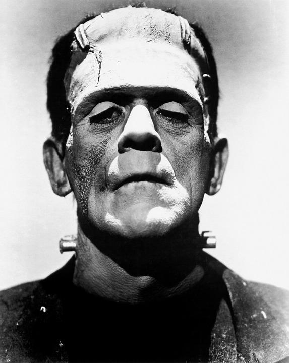 Monstruos famosos del cine de animación-Los inicios del cine-frankenstein