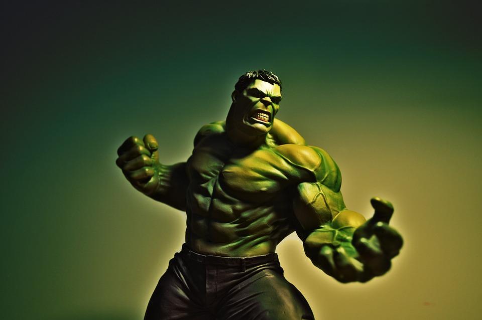 Monstruos famosos del cine de animación-Los inicios del cine-hulk